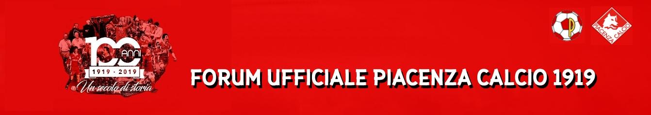 FORUM UFFICIALE DEL PIACENZA CALCIO 1919